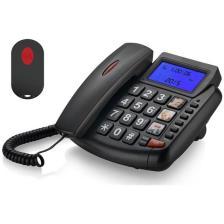 Επιτραπέζιο Τηλέφωνο TM-S003 SOS button μεγάλα κουμπιά & Οθόνη (TM-S003)