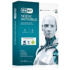 ESET NOD32 Antivirus, 1 άδεια χρήσης + δωρεάν για 1 Συσκευή, 1 έτος (NOD3211)