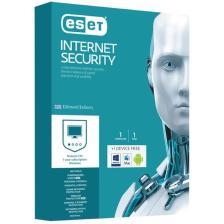 ESET Internet Security, 1 άδεια χρήσης + δωρεάν για 1 Συσκευή, 1 έτος (ES-INS-1)