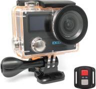 Eken Action Cam H8R, UltraHD 4K 30fps, 14MP, WiFi, Waterproof, Black (H8R-BK)