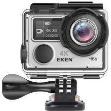 Eken Action Cam H6s, Ultra HD 4K, 14MP, WiFi, EIS, Waterproof, Silver (H6S-SL)