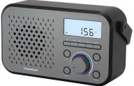 Thomson Φορητό ψηφιακό Ραδιόφωνο RT300, FM/MW, LCD, ξυπνητήρι, Γκρι