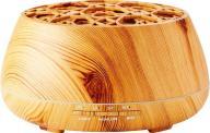 Bigben Hχείο με φωτισμό & διαχυτή αρώματος BTA01, Bluetooth, 10W, wood (BTA01)
