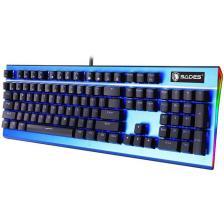 Sades Ενσύρματο Πληκτρολόγιο K13 Sickle μηχανικό RGB Side Blue switch (SA-K13-BL)