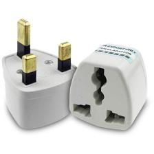 Powertech UK πρίζα σε Universal Λευκό (PT-368)