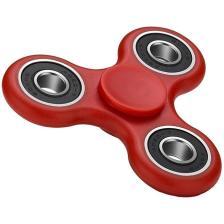 Fidget Spinner FS-008 Plastic 3 leaves με bearings Red 1 minute