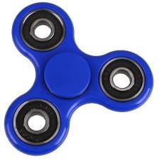 Fidget Spinner FS-009 Plastic 3 leaves με bearings Blue 1 minute