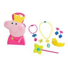 Jamara Βαλιτσάκι Peppa Pig πριγκίπισσα 410096 με κοσμήματα 7τμχ
