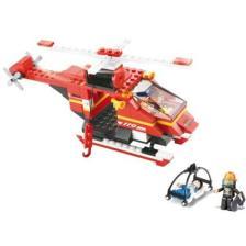 Sluban Τουβλάκια Fire Rescue Helicopter M38-B0218 155τμχ