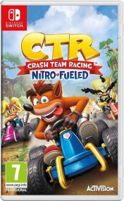 Crash Team Racing Nitro Fueled - Nintendo Switch Game - Day 1 Edition ψηφιακό υλικό