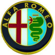 Σήματα I Στρογγυλά Μεγάλα Alfa Romeo Plastic Screen PLS-040040651