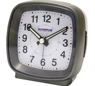 Ρολόι-Ξυπνητήρι Αθόρυβης Λειτουργίας Olympus OL-816SP Μαύρο