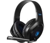 Sades Gaming Headset Cpower SA-716-BL Multiplatform 3.5mm