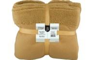 Κουβέρτα Καναπέ Fleece 130x170cm Καφέ Fennel BFS360-130170-BR