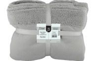 Κουβέρτα Μονή Fleece 160x220cm Γκρι Fennel BFS360-160220-GR