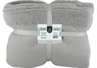 Κουβέρτα Διπλή Fleece 220x240cm Γκρι Fennel BFS360-220240-GR