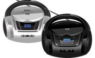 Φορητό Ράδιο-CD με USB IQ CD-498 Ασημί