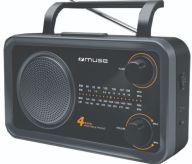Ραδιόφωνο Muse M-06DS Μπαταρίας & Ρεύματος Αναλογικό