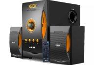 Akai SS032A-3515 Ηχοσύστημα 2.1 με Bluetooth, USB, SD & Ραδιόφωνο 38w