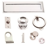 Polished Nickel Ironmongery