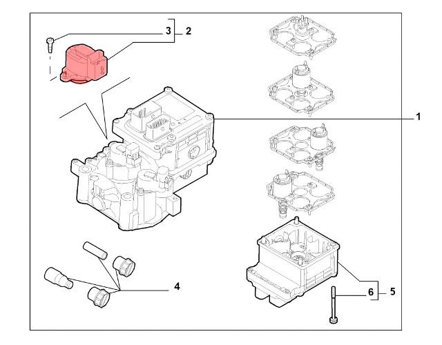 Alfa Romeo 159 2.2 JTS Selespeed Gearbox Sensor 71748012