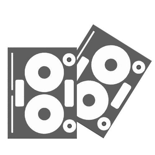 Neato High Gloss White CD / DVD Label for InkJet Printers