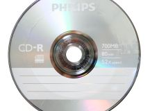 Philips Silver Branded 52X CD-R Blank Media Discs