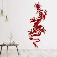 Oriental Climbing Dragon Fantasy Chinese Dragons Wall