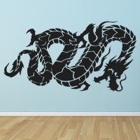Oriental Flying Dragon Fantasy Chinese Dragon Wall