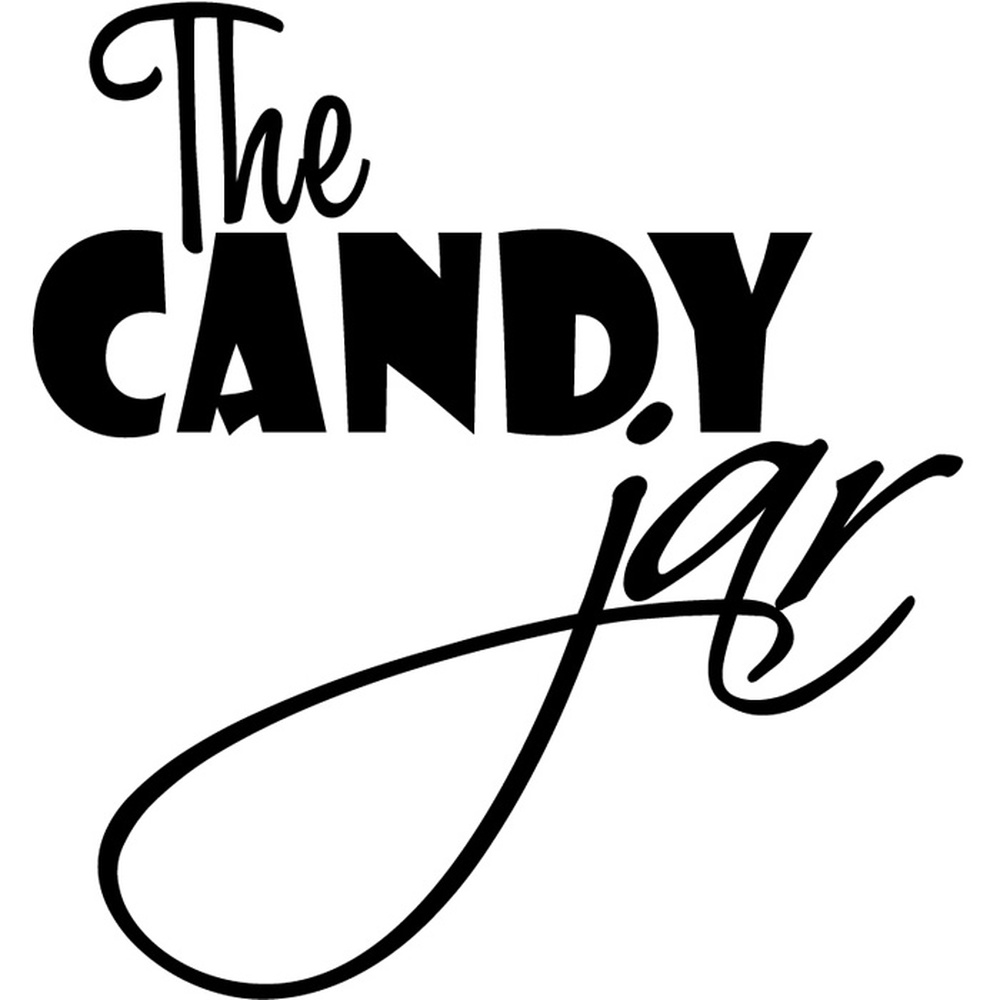 The Candy Jar Food Quotes & Slogans Wall Stickers Kitchen
