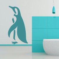 Penguin Simple Silhouette Under the Sea Wall Stickers ...