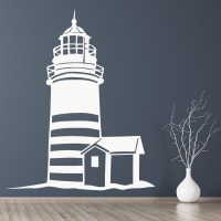 Lighthouse Scene Wall Art Sticker Decal | eBay