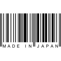 Made In Japan Decorative Barcode Wall Decal Art Stickers
