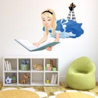 Alice In Wonderland Wall Sticker Fairytale Wall Decal ...