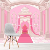 Princess Castle Wall Mural - [peenmedia.com]