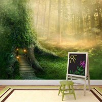 Enchanted Forest Wallpaper Mural