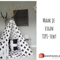 DIY: maak zelf je eigen Tipi-tent