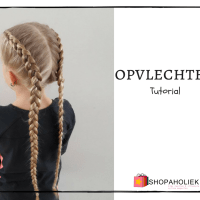 Double dutch braid tutorial: opvlechten