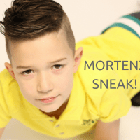 SNEAK! Birthday boy Thije in MortenZ SS17