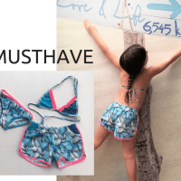 Zwemshort for girls, dé beach-musthave!