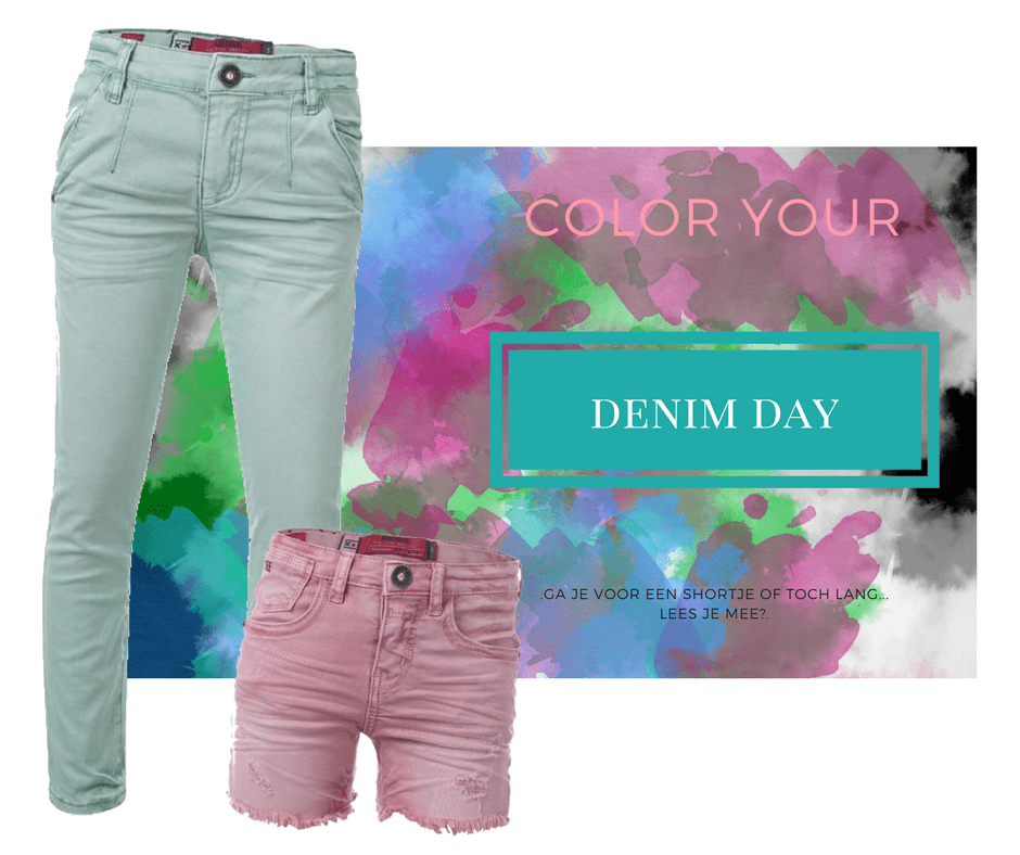 Color your Denim Day!