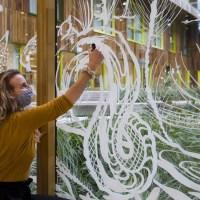 Raamillustratie: Kom in de sfeer van December met deze prachtige sjablonen!
