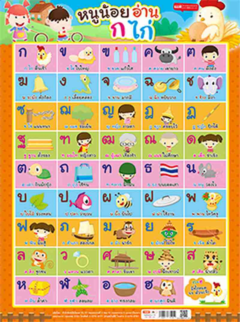 Poster Alphabet Poster. Colour: Cost: ฿ 49
