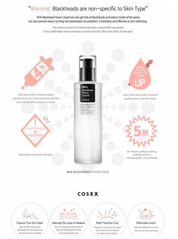 Cosrx-BHA-Blackhead-Power-Liquid-100ml-Moisturizer-shopandshop-india-description