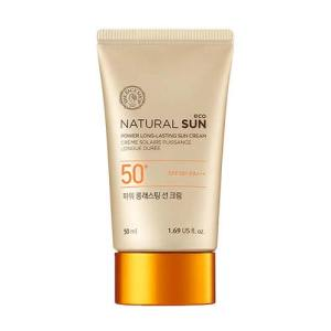 The face shop Natural sun eco power long lasting Sunblock SPF 50+ pa+++ 50ml