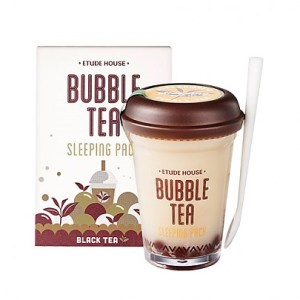 Etude houseBubble Tea Sleeping Pack Black Tea 100g