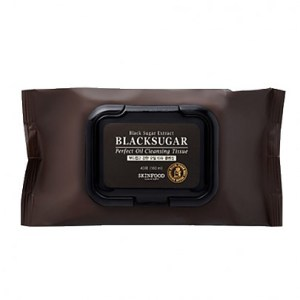 Skinfood Black Sugar Perfect Oil Cleansing Tissue