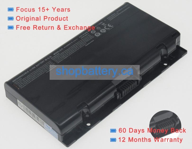 Eurocom Shark 4 (Clevo N150SD) Notebook 6-cell 62 Wh battery