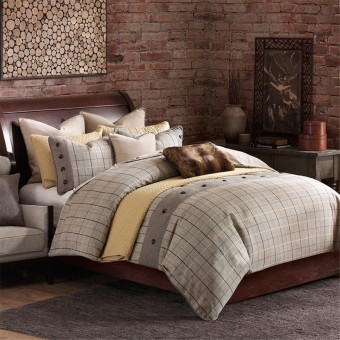 Hampton Hill Shadow Mountain Comforter Set  ShopBeddingcom