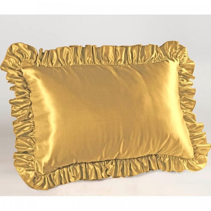 Satin Ruffled Pillow Sham  ShopBeddingcom